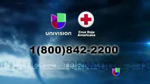 La Cruz Roja trabajando arduamente para ayudar a los damnificados de Okl...
