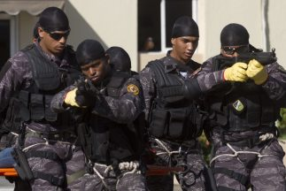Policías de República Dominicana.