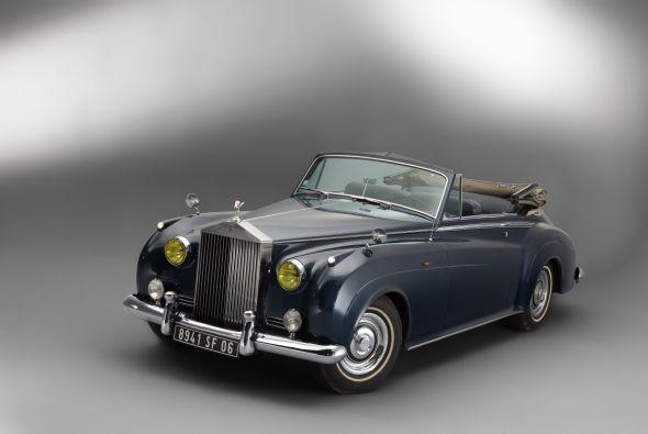 Este Rolls-Royce perteneció a Bridget Bardot.