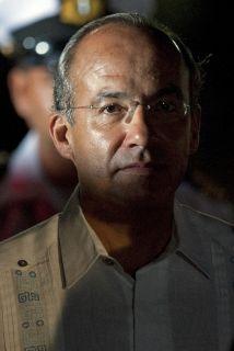 El presidente mexicano, Felipe Calderón.