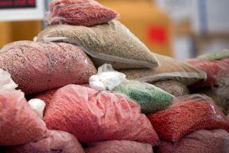 La Policía Federal detuvo a una mujer con 25 kilos de droga sintética en...