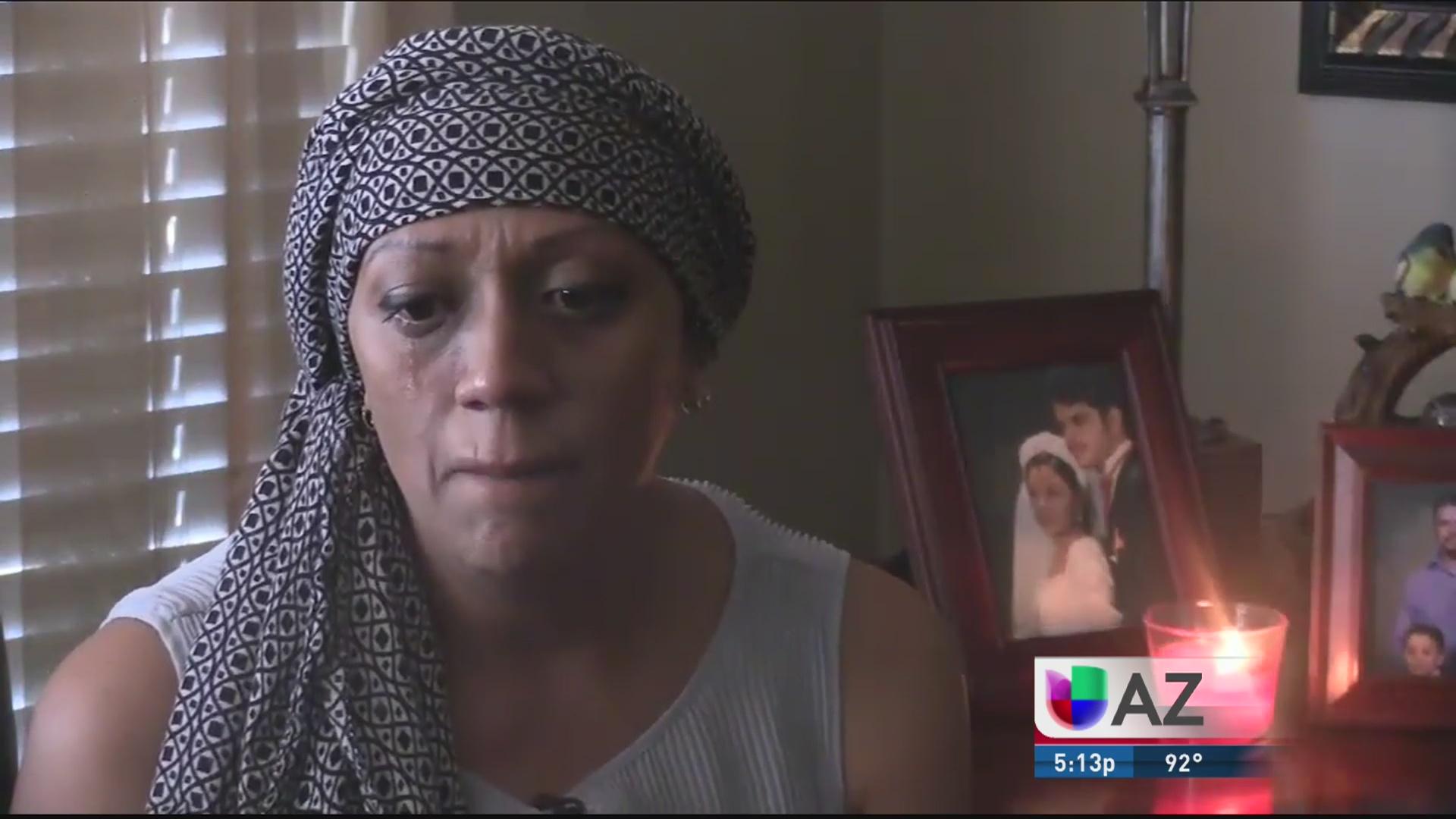 Griselda tiene los días contados por cáncer de ovarios