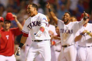 Leonys Martin, jugador de Rangers de Texas.