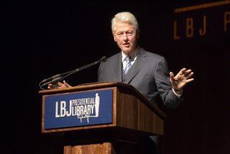 Bill Clinton participó en la Cumbre de Derechos Civiles en Texas,que ce...