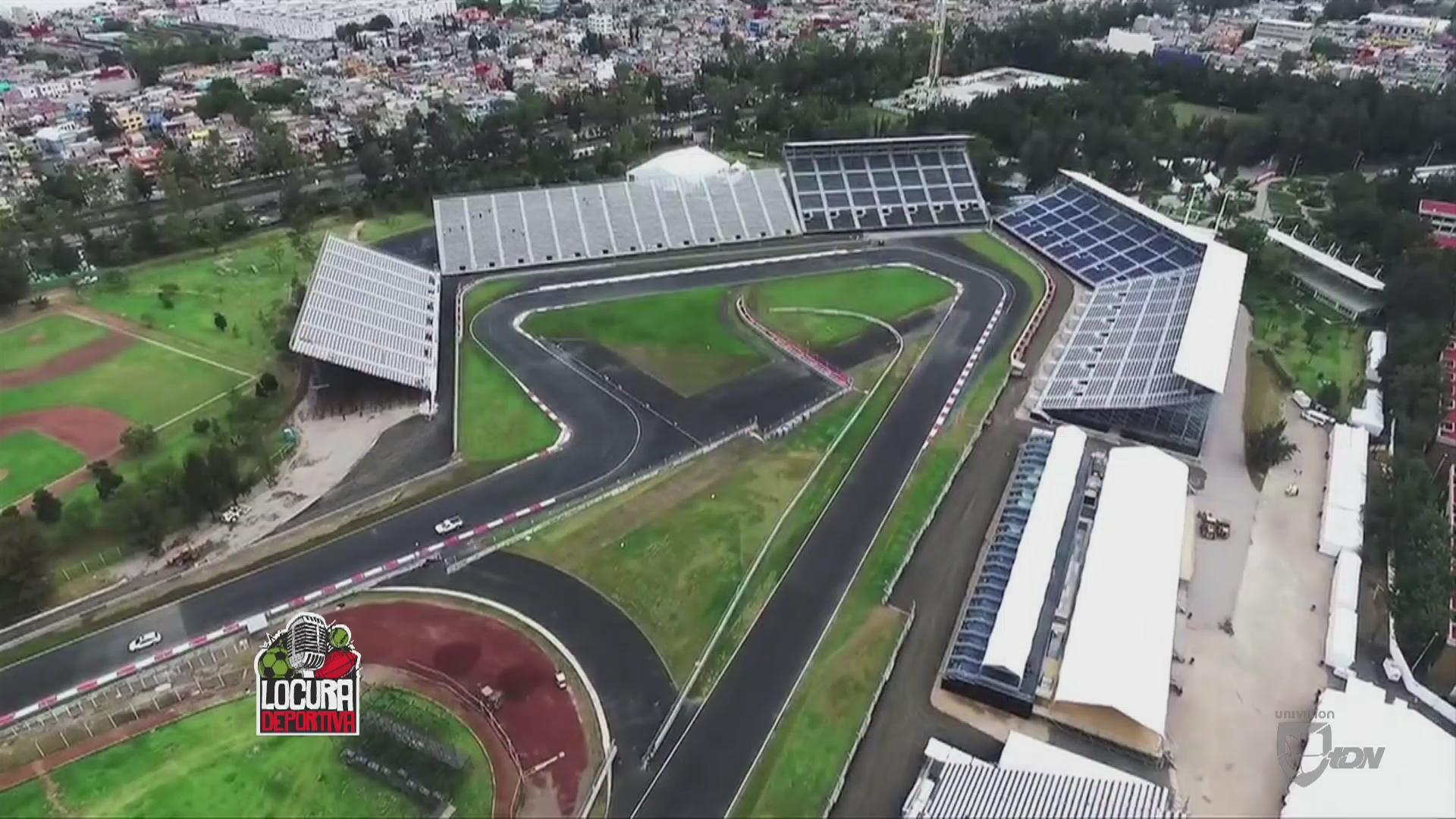 Conoce el aut dromo hermanos rodr guez univision for Puerta 5 autodromo hermanos rodriguez