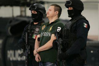 Tras un enfrentamiento entre policías federales contra presuntos delincu...