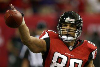 Tony González no pudo llegar a su primer Super Bowl con los Falcons.