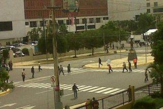 Imágen del enfrentamiento en las afueras de República Dominicana. (Fotog...