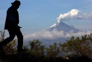 El volcán mexicano Popocatépetl.