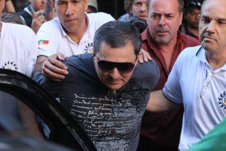 Un total de 28 personas fueron acusadas por la policía de Brasil como re...