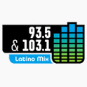 Logo Chicago Latino Mix 93.5 & 103.1 FM