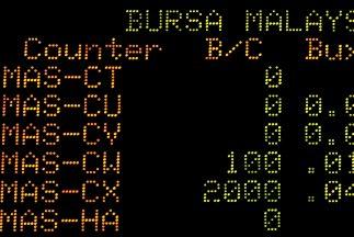 Malaysia Airlines suspendió este viernes su cotización en la bolsa de Ku...