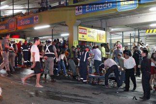 La mayoría de las víctimas son jóvenes. Centenares resultaron heridos tr...