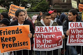 En 2008 el presidente Barack Obama ofreció una reforma migratoria en el...
