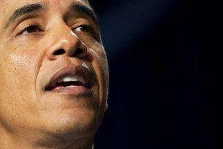 Obama habló durante el tradicional desayuno que año a año realizan los l...