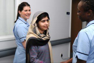 Malala Yousufzai, de 15 años.