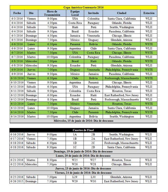... Univision Puerto Rico anuncia el calendario de transmisión de juegos