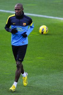 Abidal puede reaparecer con el Barcelona ante Celta.
