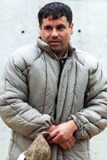 El capo mexicano Joaquín El Chapo Guzmán Loera.
