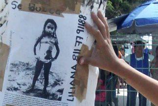 La menor Melany Viridiana, originaria de Nuevo León, desapareció en un v...