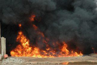 El número de muertos que se produjeron el jueves por la explosión de un...