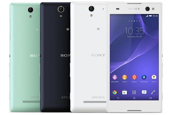 """Con le Xperia C3 Sony ataca el mercado de las """"Selfies""""."""
