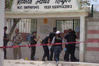 Las escuelas de Chihuahua han sido blanco de la violencia del narcótrafico.