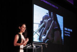 """La directora de """"Una noche"""", Lucy Mulloy, en el Festival de Cine de Trib..."""