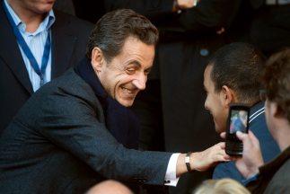 El ex presidente de Francia,Nicolás Sarkozy.