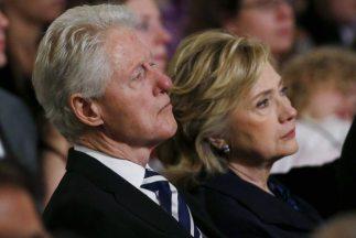 Bill y Hillary Clinton.