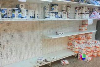 Hay escasez de papel higiénico en Venezuela