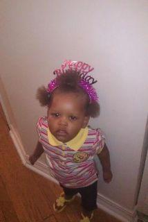 La pequeña Jamya Love de dos años murió cuando un auto impactó el cochec...