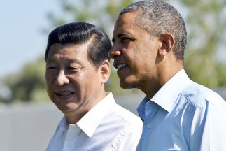 Barack Obama, y su homólogo chino, Xi Jinping.