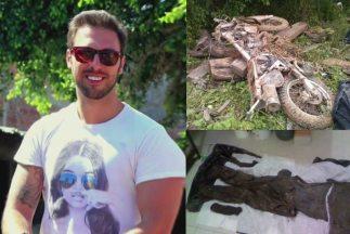 Los restos fueron hallados dentro de bolsas de plástico negras sobre un...