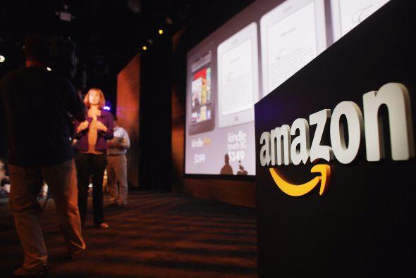"""Amazon no pudo registrar """".amazon""""."""