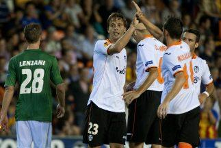 Canalespuso el último gol de la goleada valenciana.