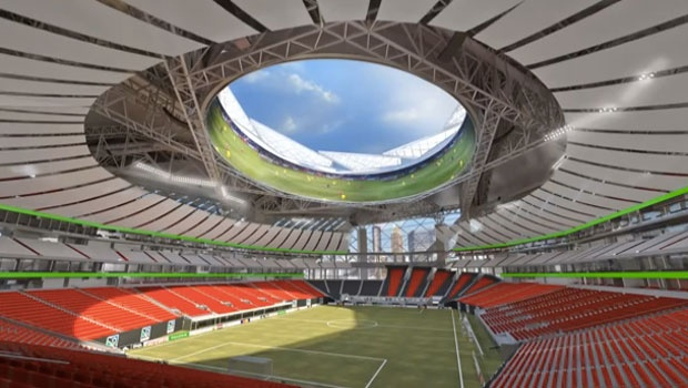 El Mercedes Benz Stadium La Casa Del Atlanta United Fc