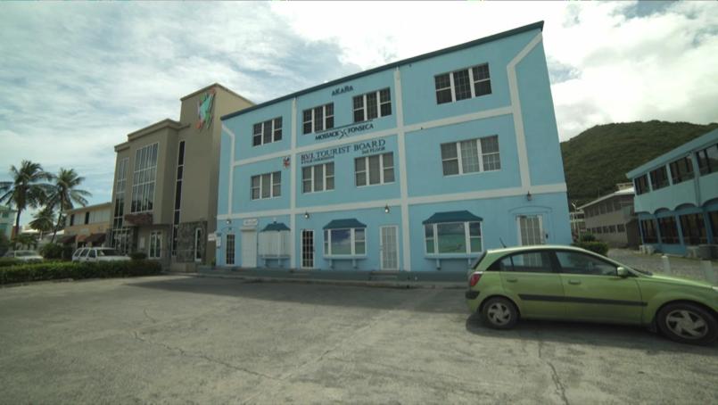 Oficina de Mossack Fonseca en las Islas Vírgenes Británicas