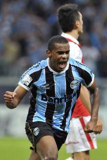 Gremio de Porto Alegre en la Copa Libertadores.
