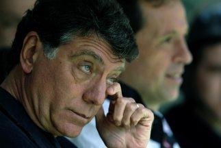 En su primer día como entrenador de Independiente, Miguel Angel Brindisi...