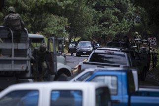 Los elementos de la Policía Federal (PF) que agredieron a funcionarios e...
