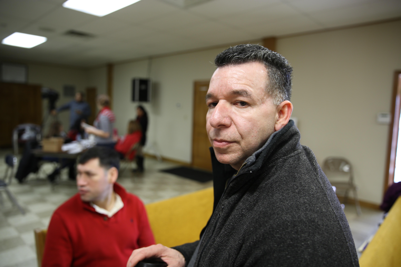 Fernando Hilarión, votante latino de New Hampshire