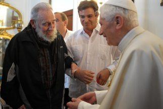 Cuba declaró festivo el próximo Viernes Santo, a petición de Benedicto X...