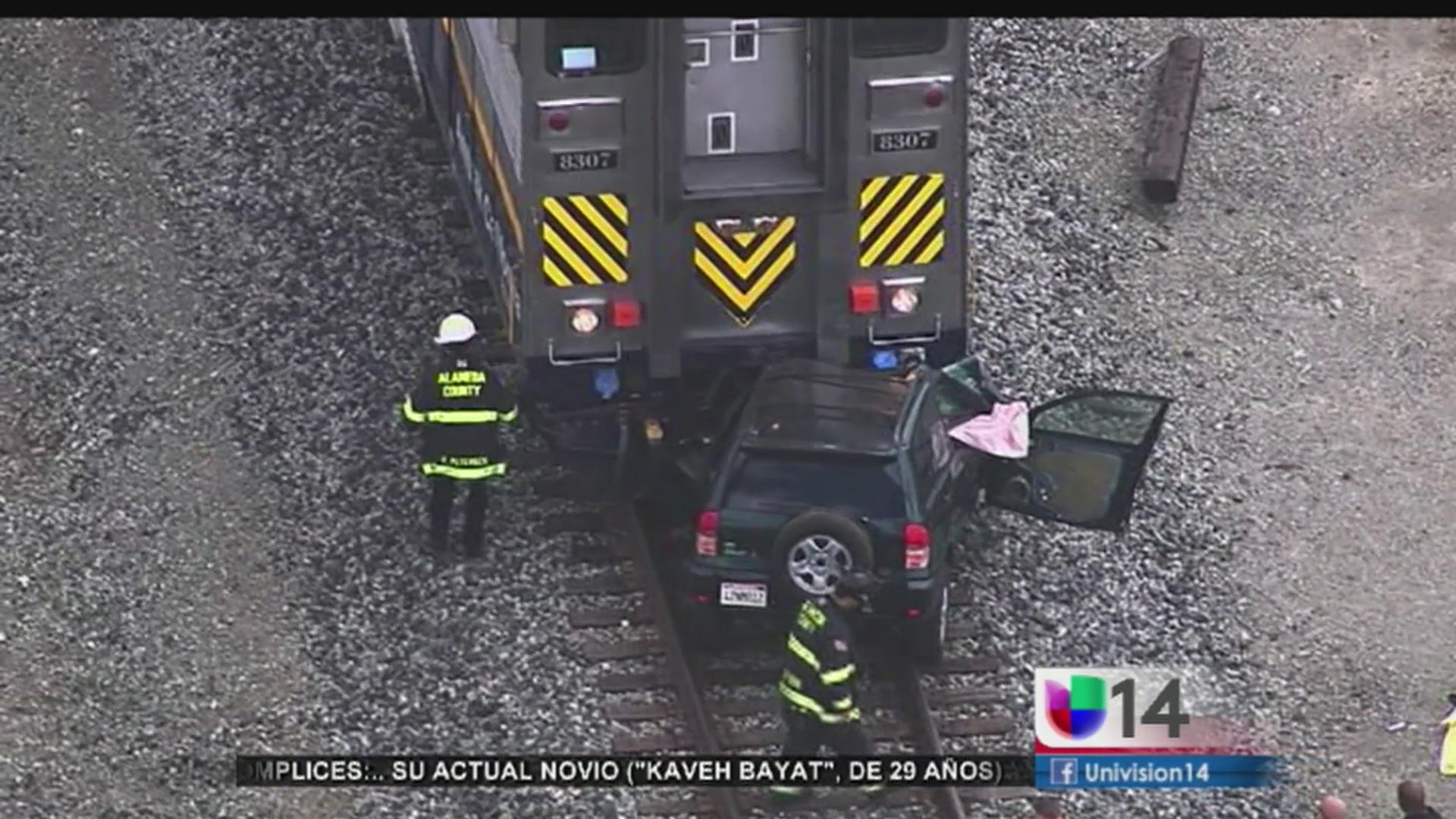 Accidente en vías del tren cobra la vida de dos personas