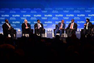 Emprendedores y líderes africanos asistieron a la cumbre África-Estados...