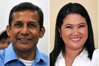 Los candidatos Ollanta Humala y Keiko Fujimori irían a una segunda vuelt...