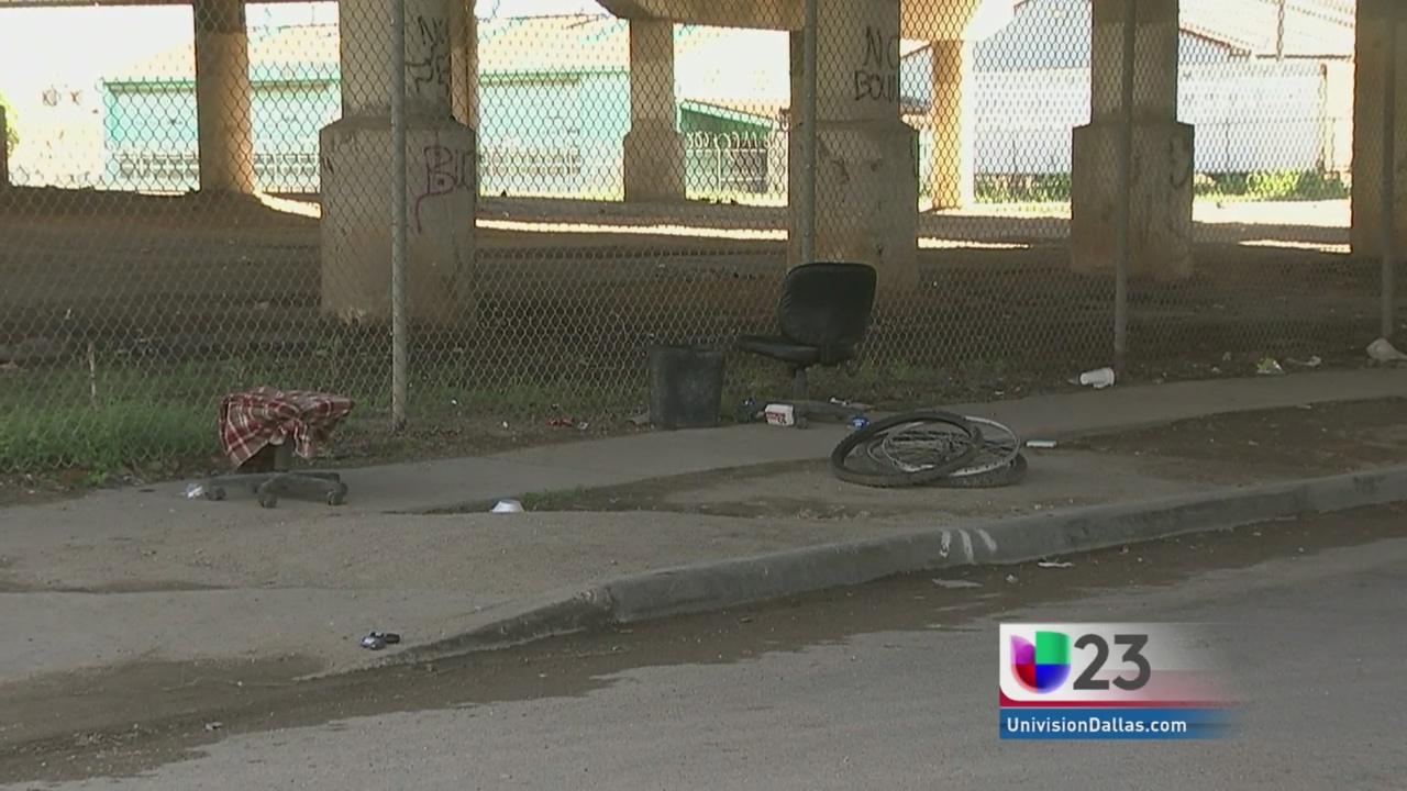 'Tent City' ya no existe en Dallas