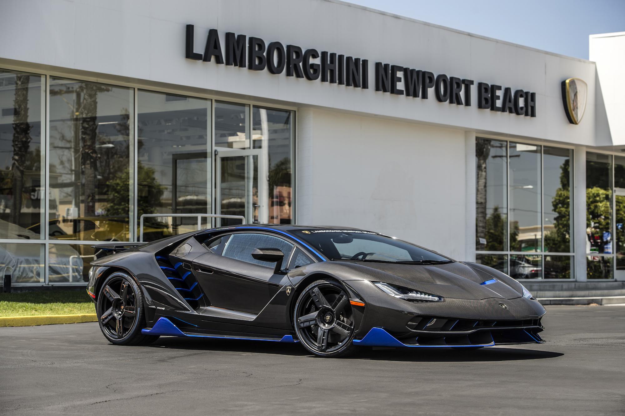 Llega La Primera Unidad Del Lamborghini Centenario De 1 9