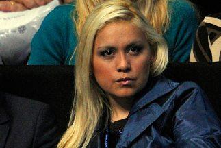 Verónica Ojeda, ex novia de Diego Armando Maradona, presentó en sociedad...