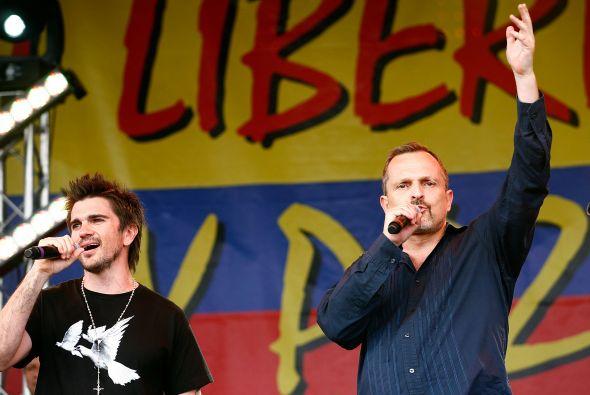 Juanes y Miguel Bosé podrían llevar 'Paz Sin Fronteras' a Venezuela; qui...